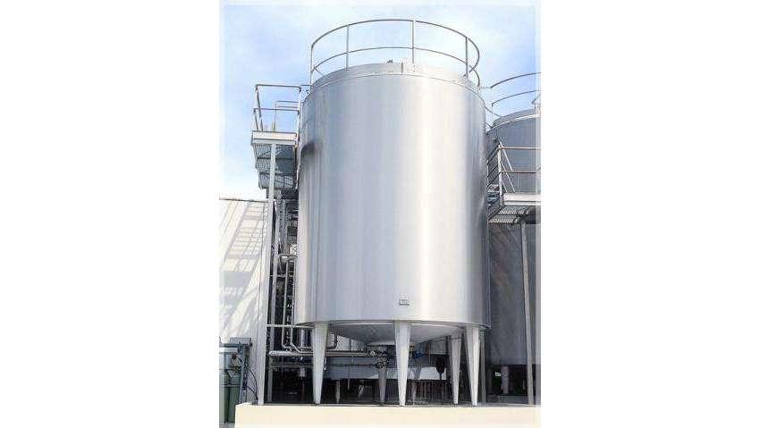 Cuves de stockage eau thermale